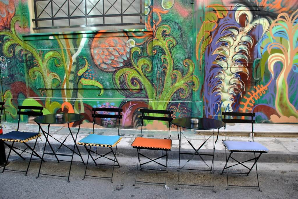 Psiri, barrio de moda de Atenas