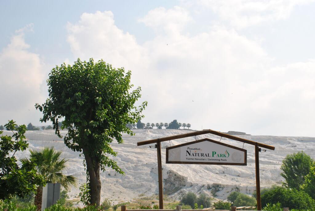 Entrada sur de Pamukkale