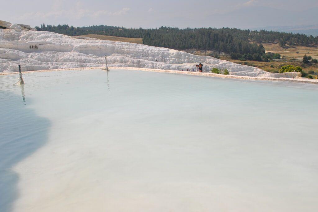 Piscina de agua artificial
