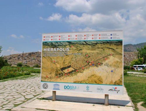 Las ruinas de la antigua Hierápolis