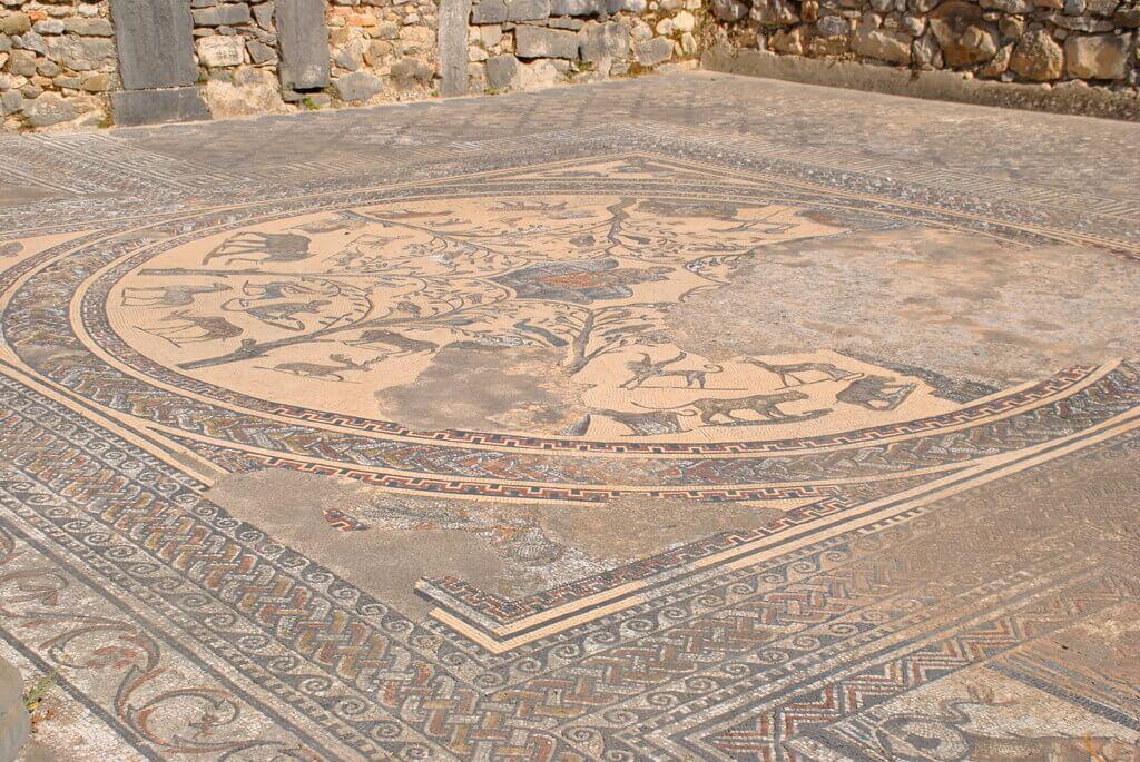 Mosaico de la Casa de Orfeo