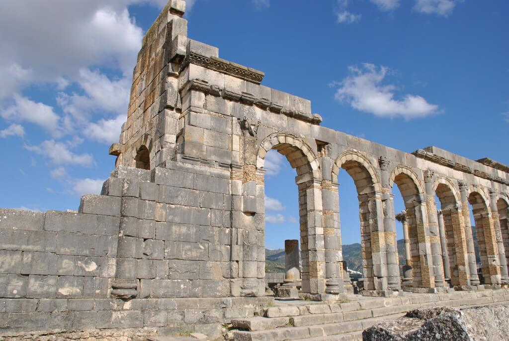 Basílica civil de Volubilis