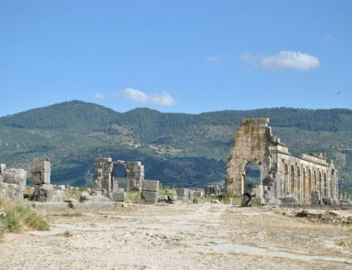Volubilis. Las ruinas romanas de Marruecos