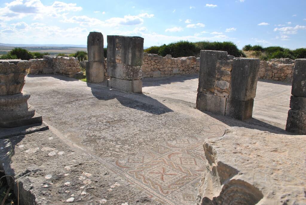 Interior de la Casa del Efebo