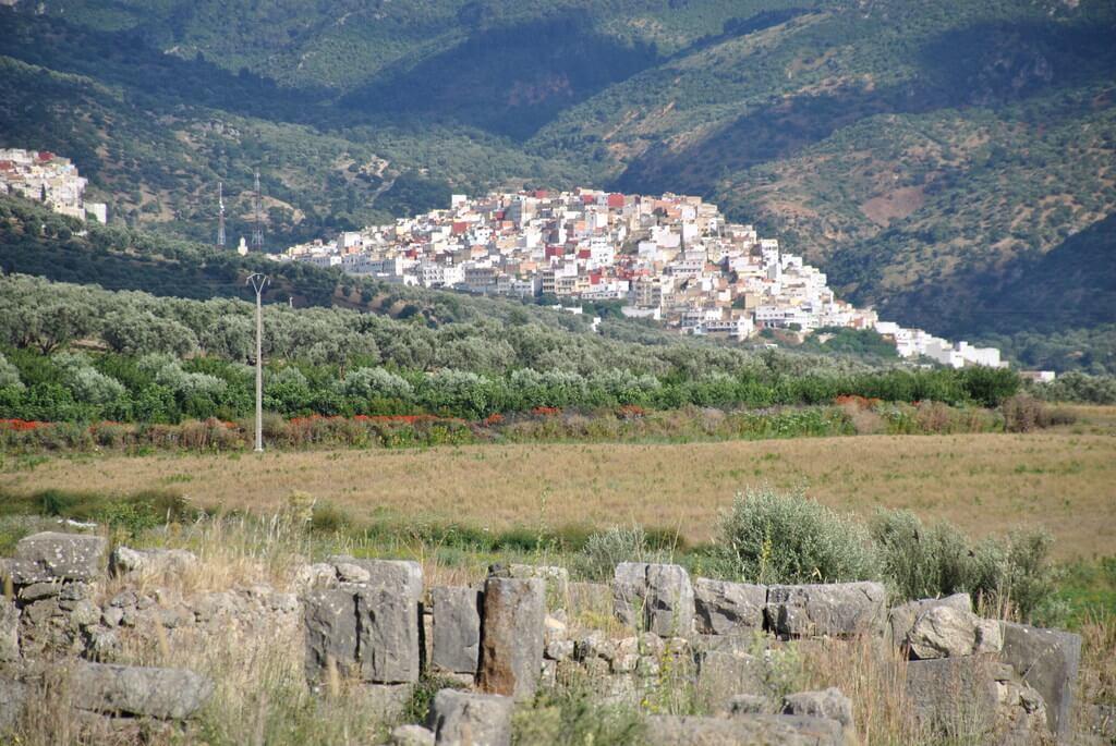 vistas desde Volubilis