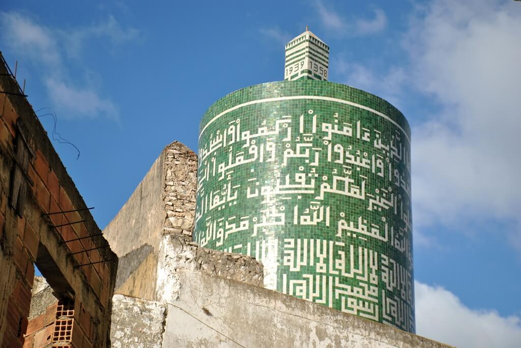 Minarete verde