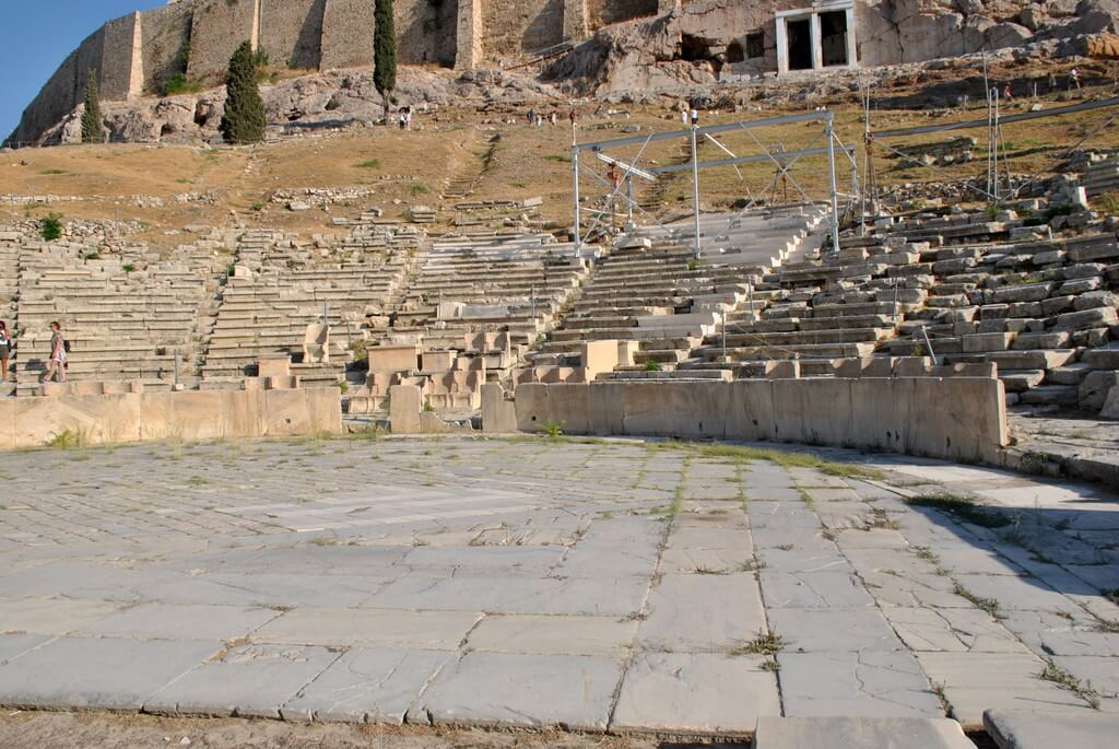 Gradas del Teatro de Dionisio