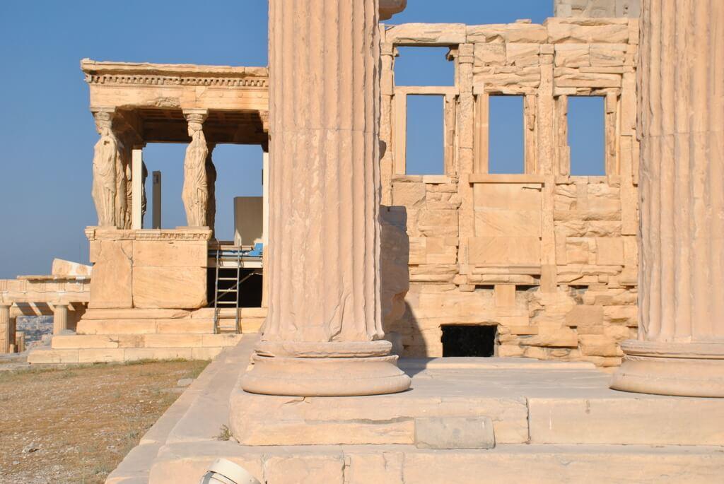 guia para visitar la Acrópolis