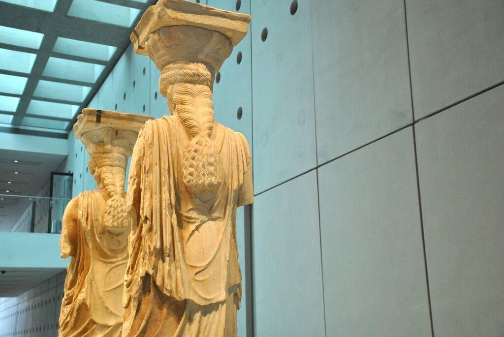 interior museo de la Acrópolis