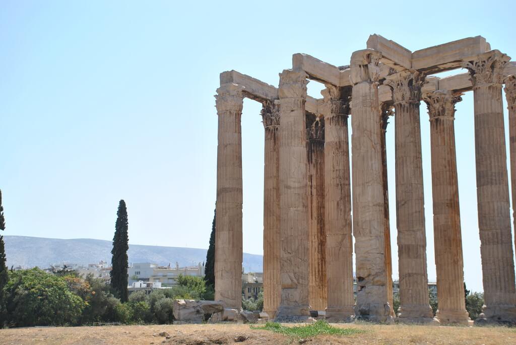 templo de Zeus, Atenas