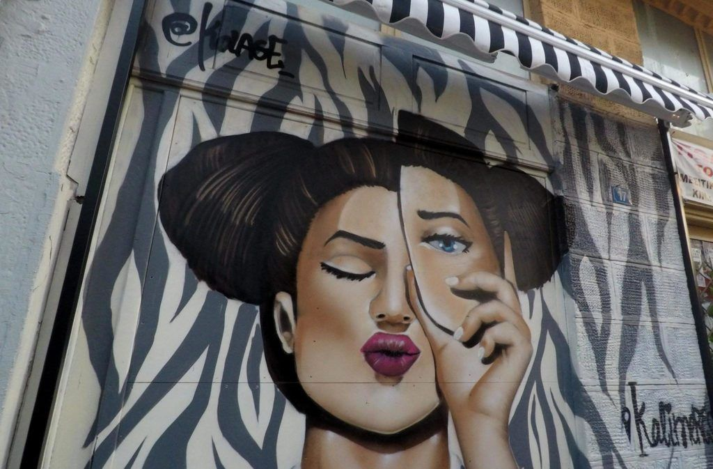 Psiri barrio de moda en Atenas