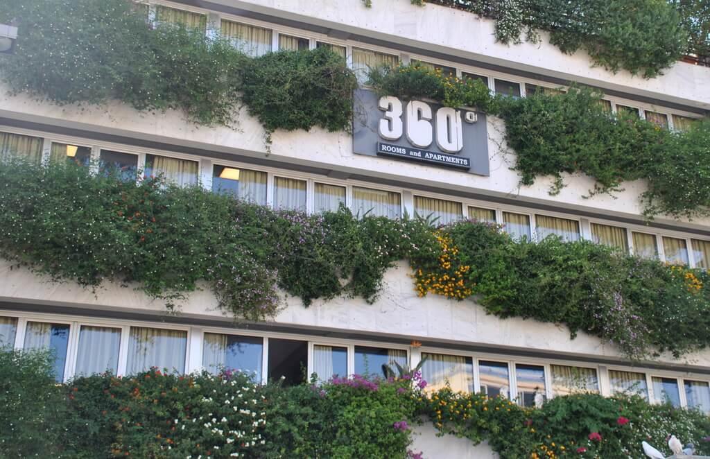 360º Hotel, restaurante y hotel