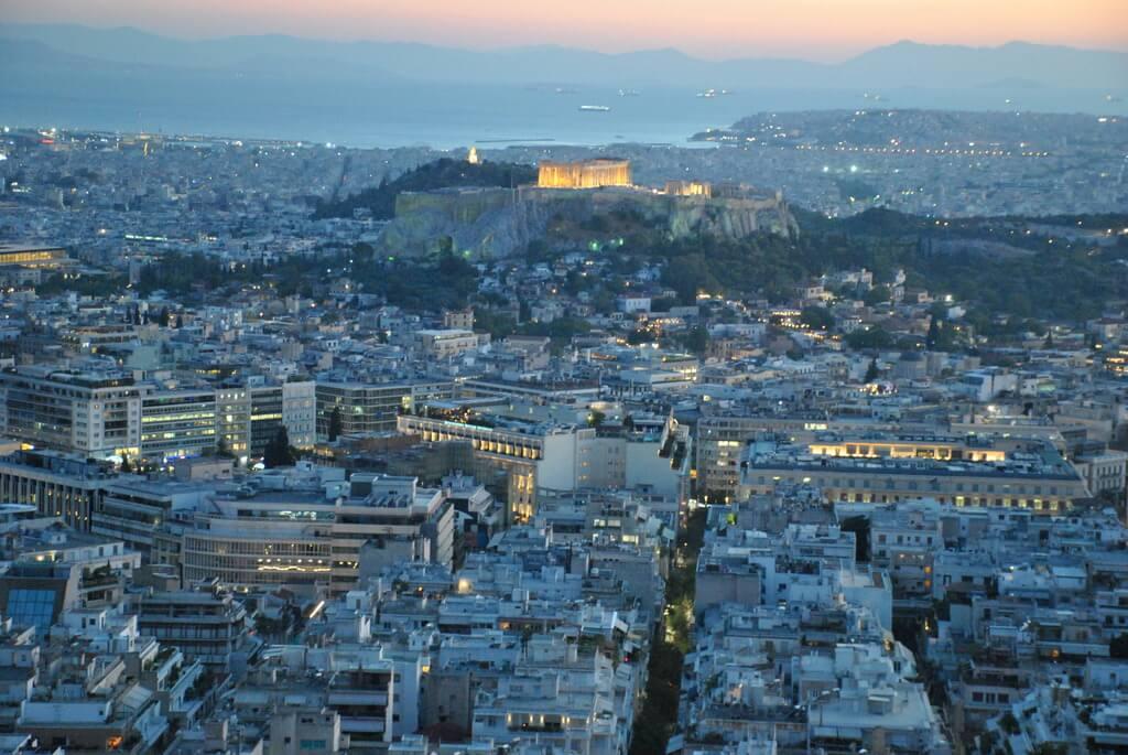 monte Licabeto, los mejores miradores de Atenas