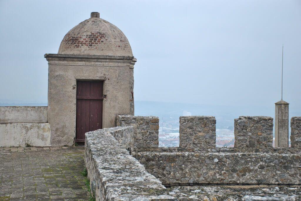 Recorriendo el interior del Castillo de Elvas
