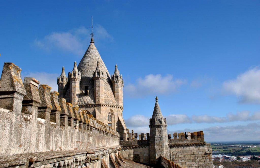 Azotea de las Torres de la Catedral de Évora
