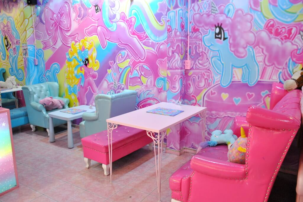 Interior Unicorn Café