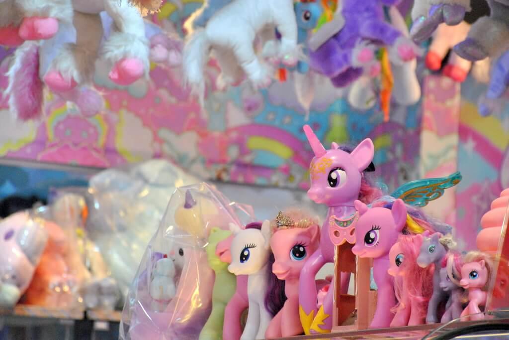 Muchos de estos muñecos están a la venta