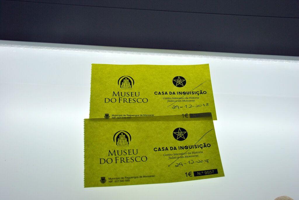 Ticket conjunto Museu do Fresco y Casa de la Inquisición