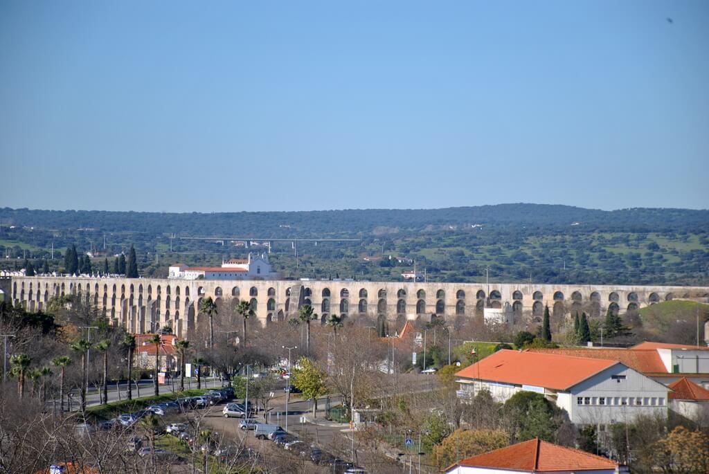 Acueducto da Amoreira, Elvas