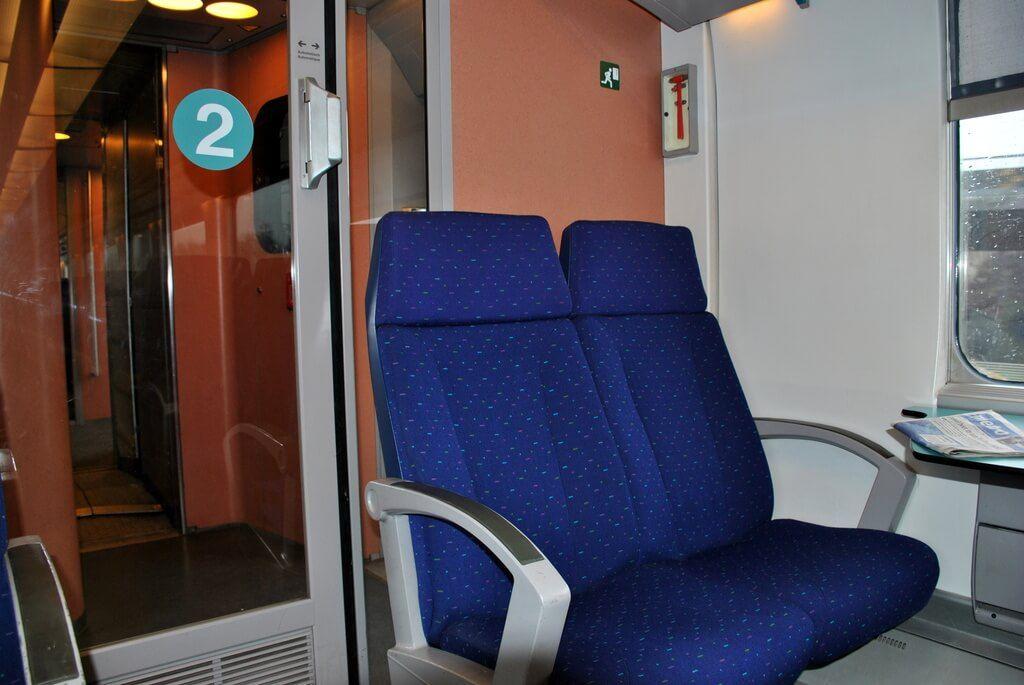 Tren trayecto Zaventem - Gare du Nord (Bruselas)