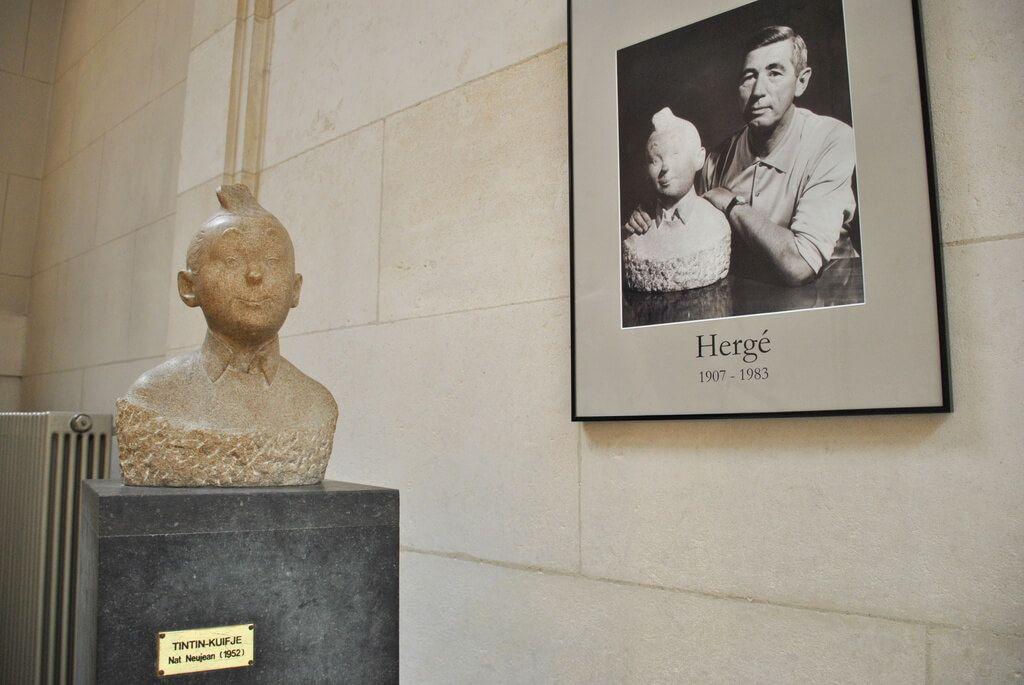 Tintín y su creador, Hergé