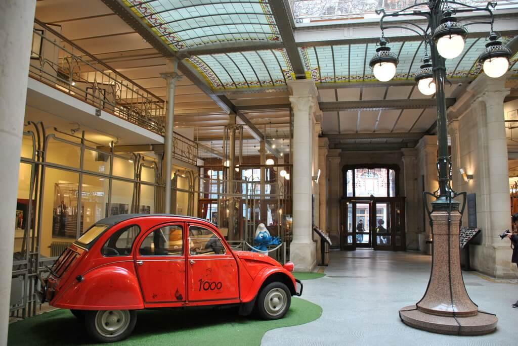 Hall de entrada al Museo del Cómic