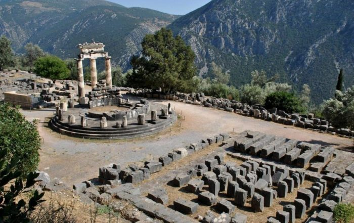 qué ver en el Santuario de Delfos