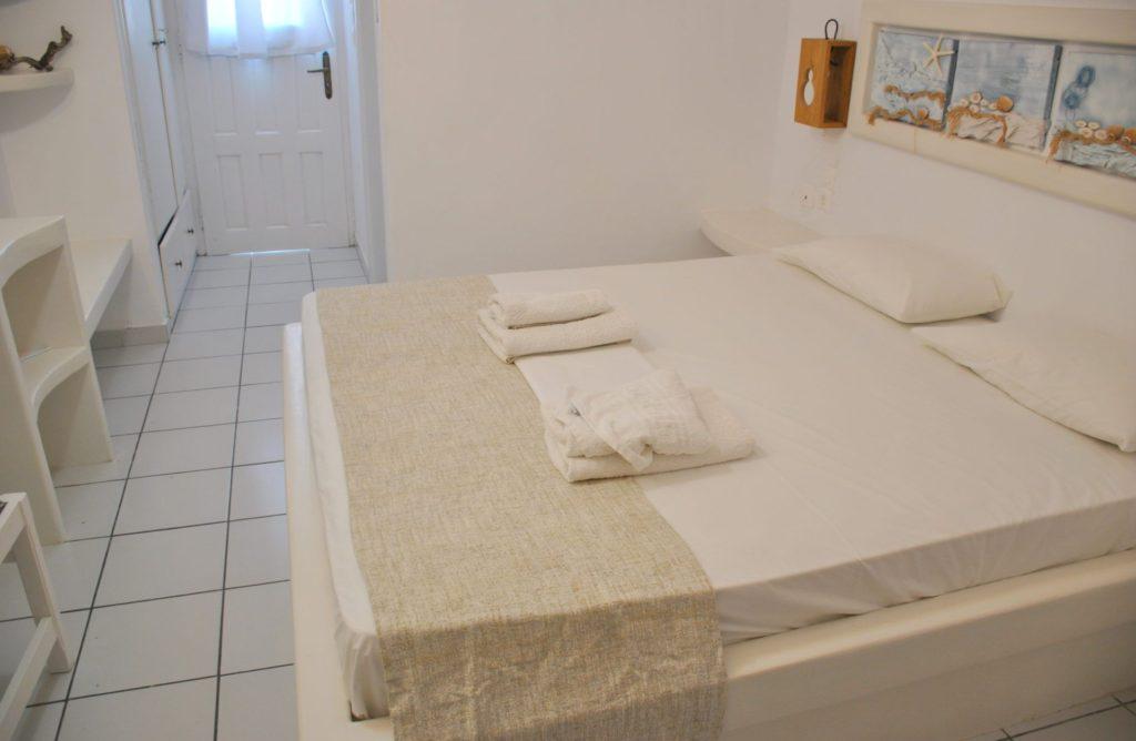 Nuestra habitación en Milos