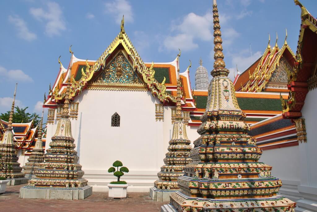Interior del Wat Pho