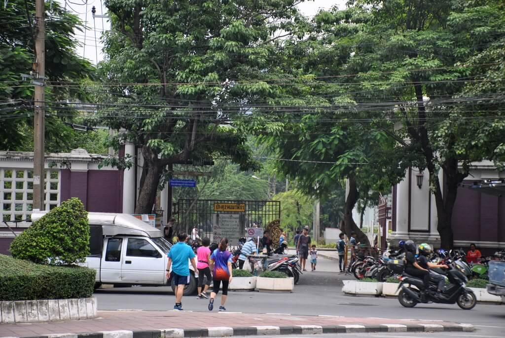 Puerta de entrada al Lumphini Park