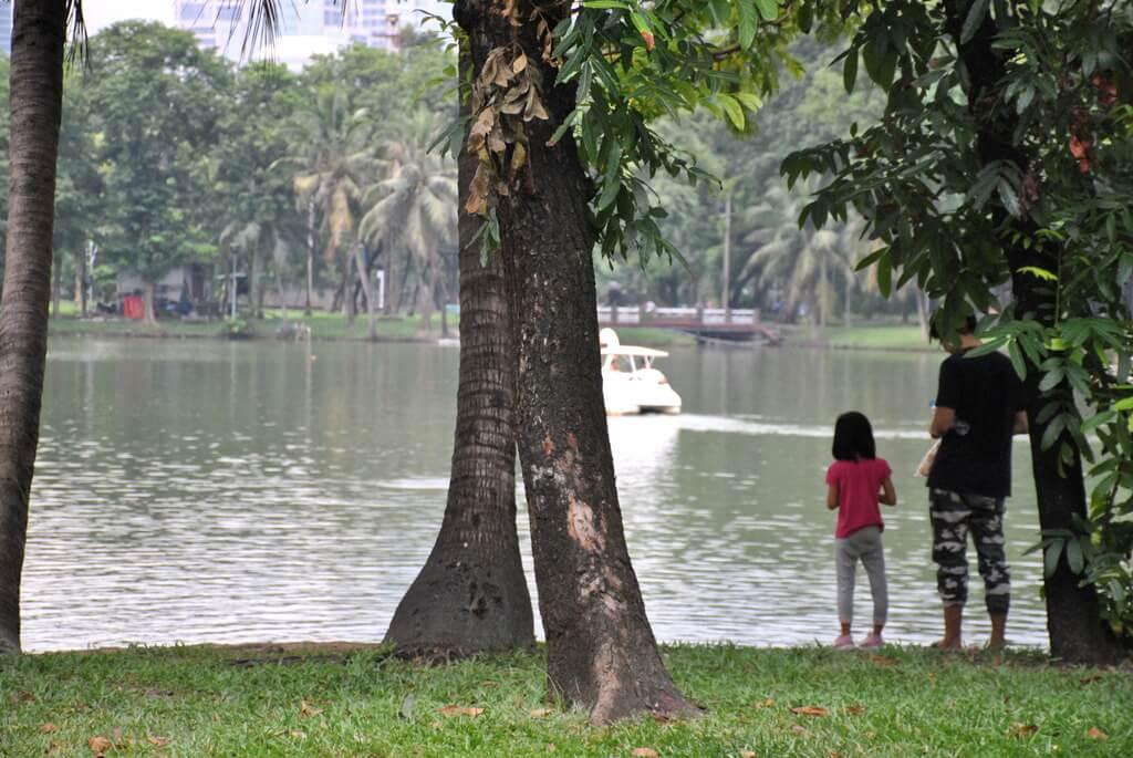Lago del Lumphini Park