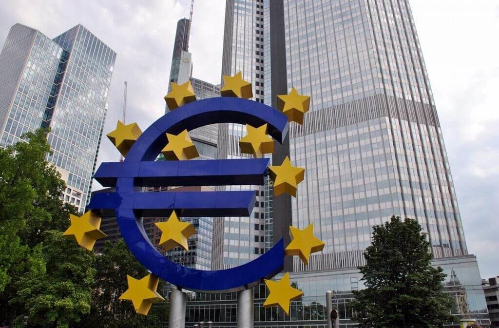 zona financiera de Frankfurt