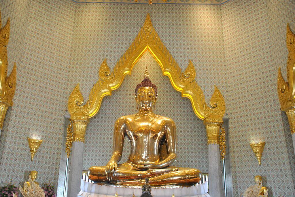 Buda de oro del Wat Traimit