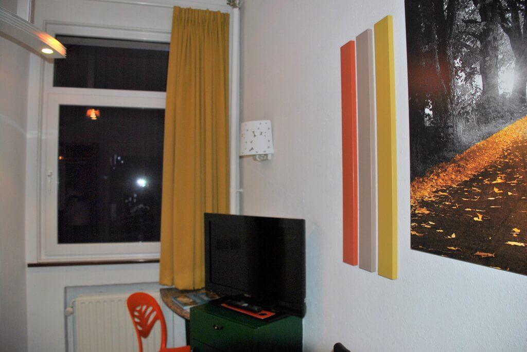 Interior habitación doble, hotel Siru