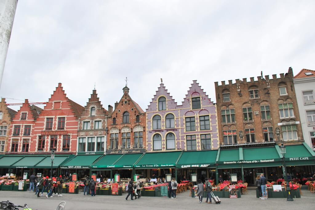 Restaurantes de la Plaza Markt