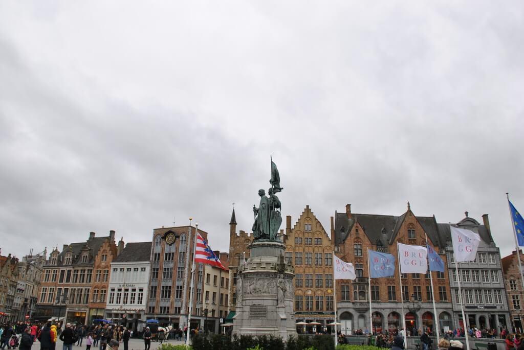 Platz Markt, Brujas