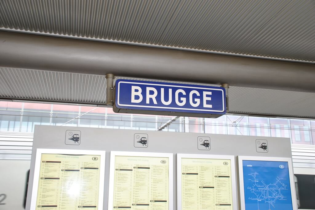 estación de trenes de Brujas