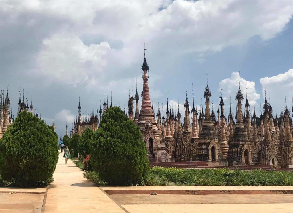 kakku el bosque de estupas de Myanmar