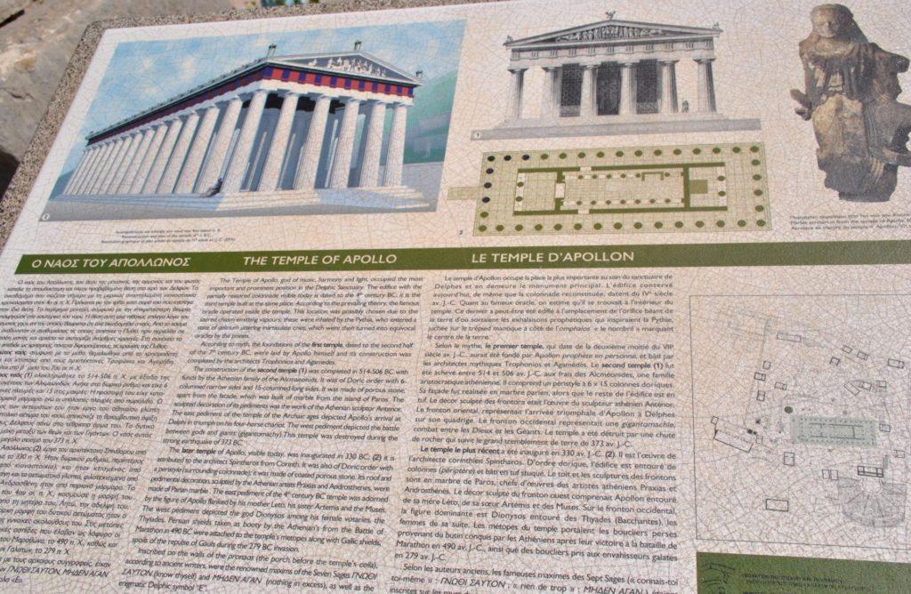 Reconstrucción del Templo de Apolo