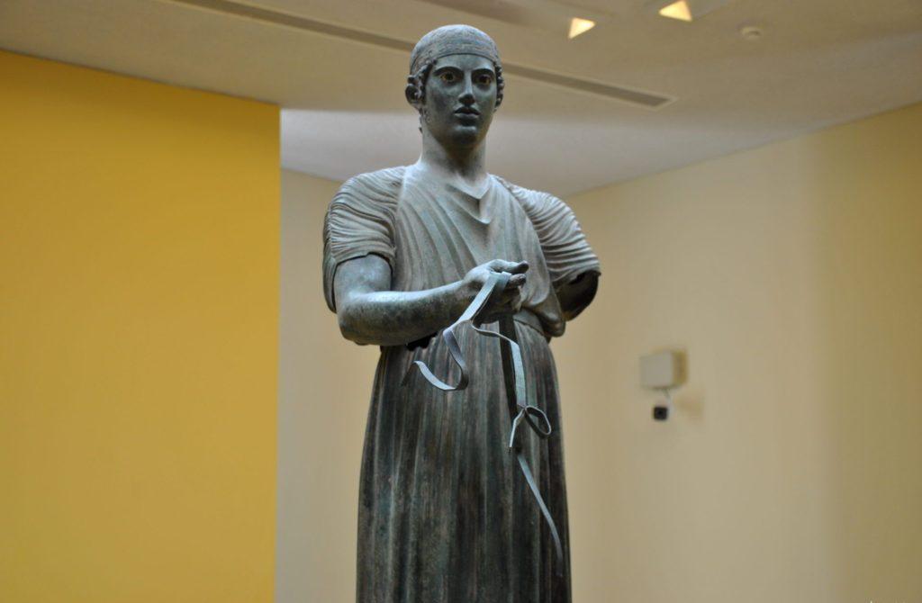 El famoso Auriga de Delfos