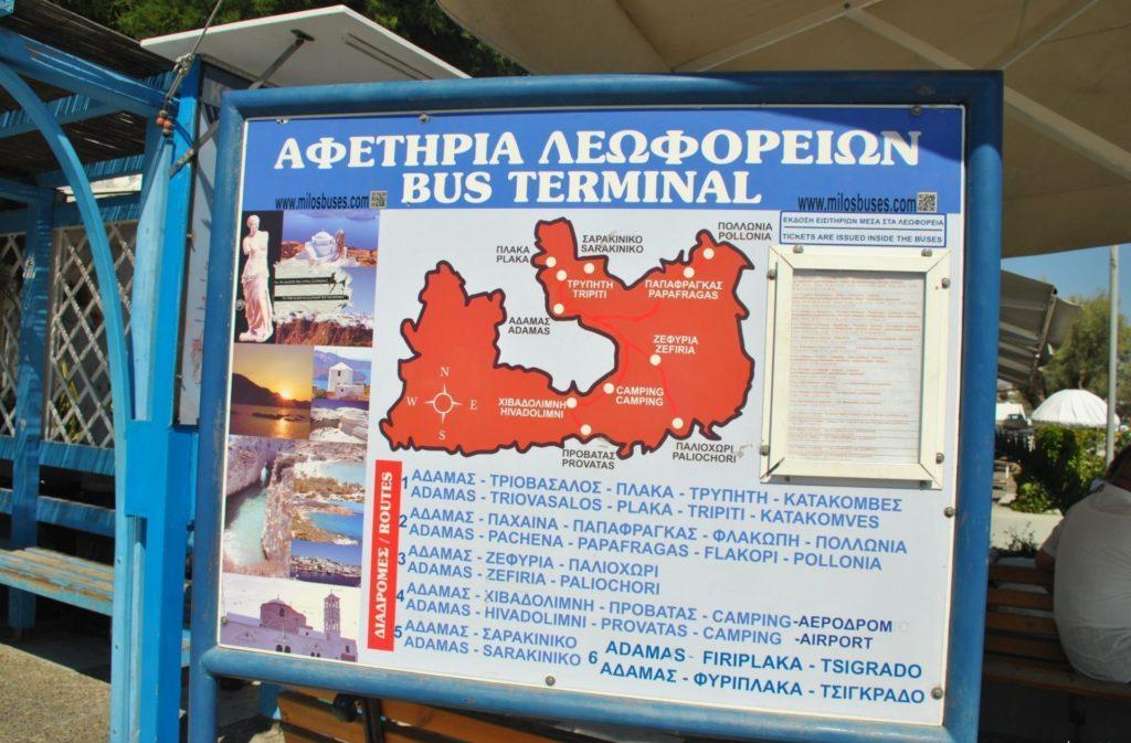 Estación de autobuses de Adamas