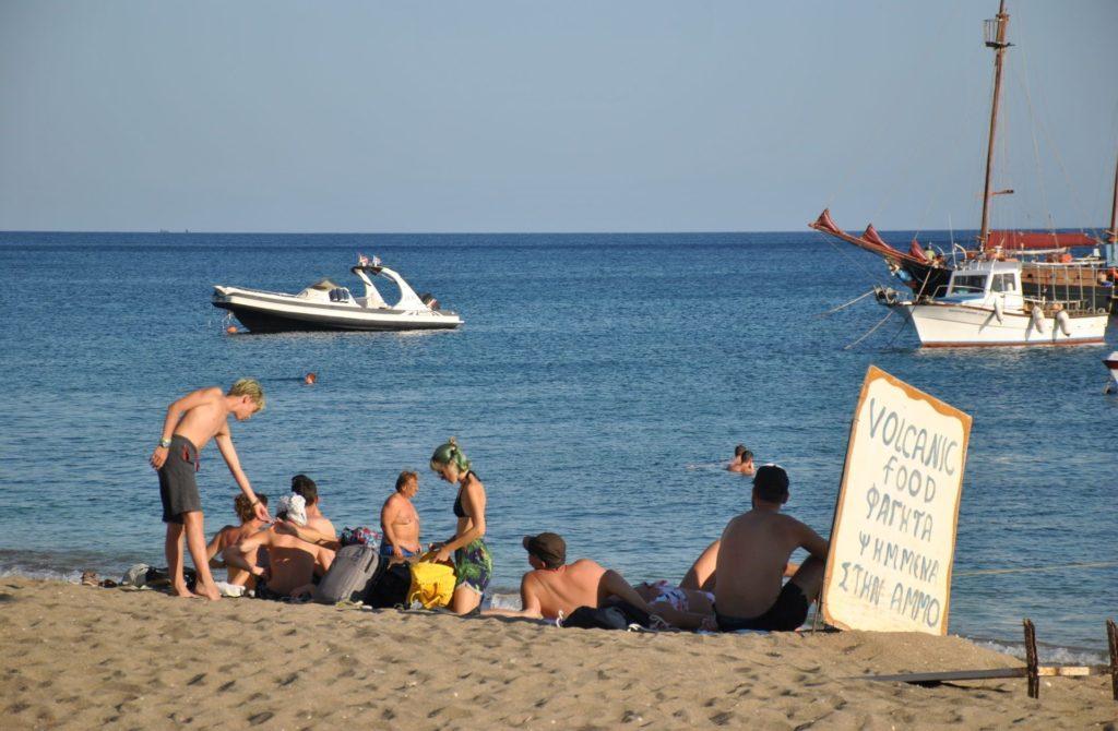 Relax en Paleochori Isla de Milos