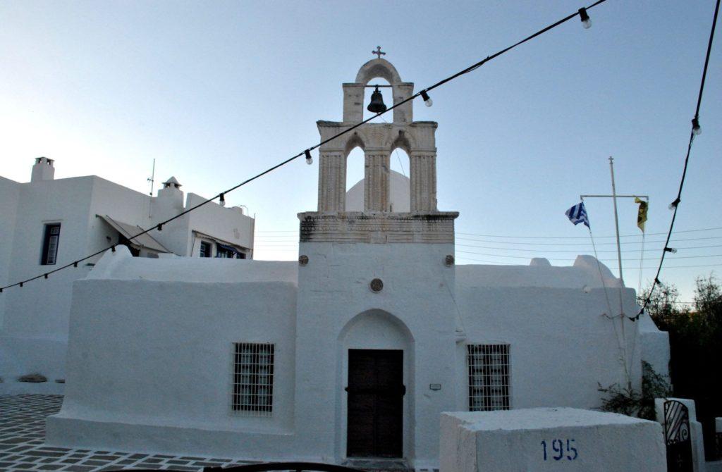 Iglesia de Adamas, isla de milos
