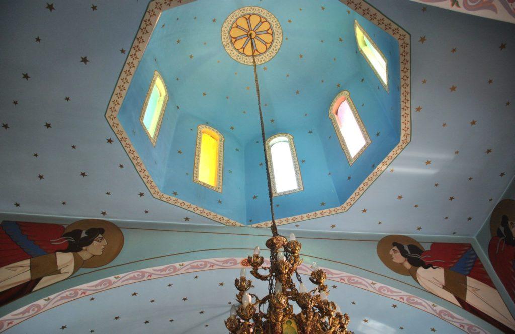 Cúpula de la iglesia de Firopótamos