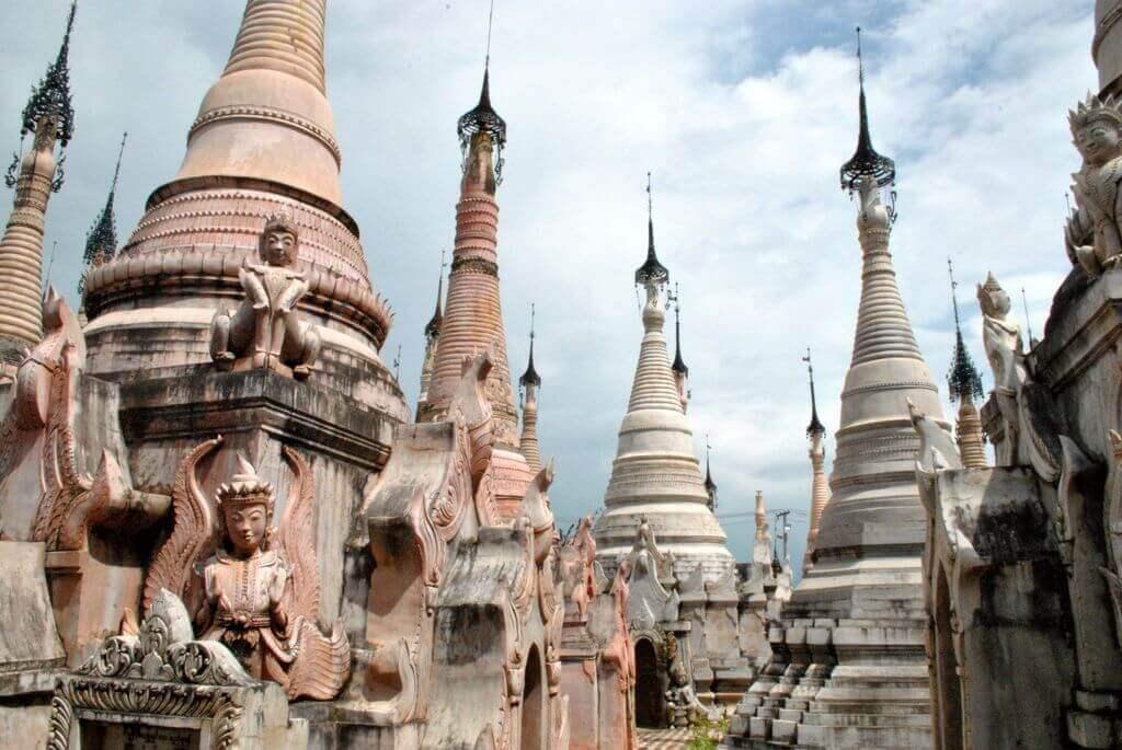qué ver en Kakku, el bosque de estupas de Myanmar
