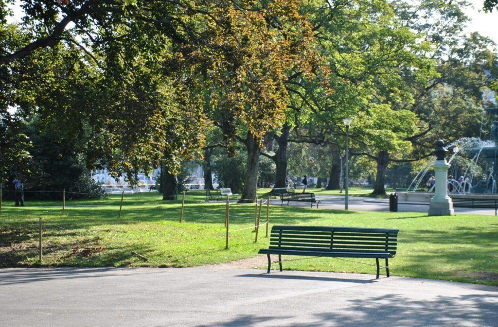 Jardín inglés de Ginebra