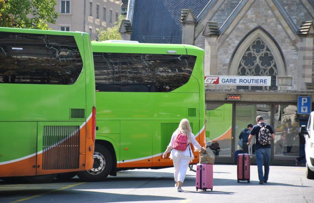 Estación de autobuses de Ginebra