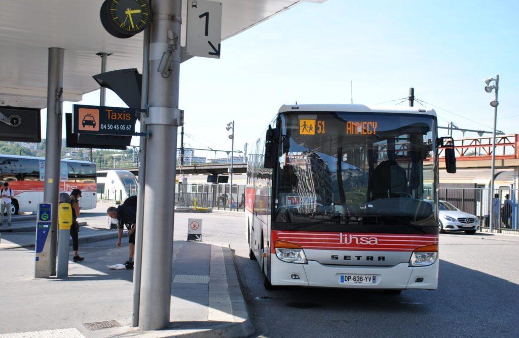 Estación de autobuses de Annecy
