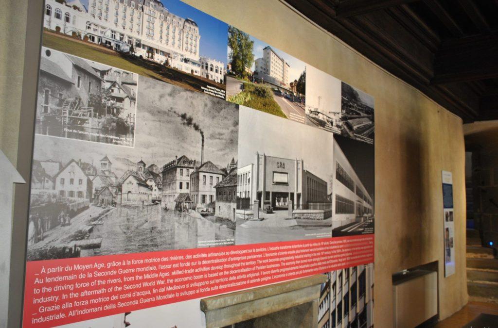 Exposición sobre la historia del Palacio de la Isla Annecy