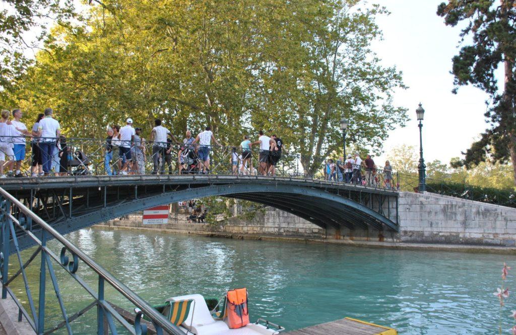 Puente de los amores, Annecy